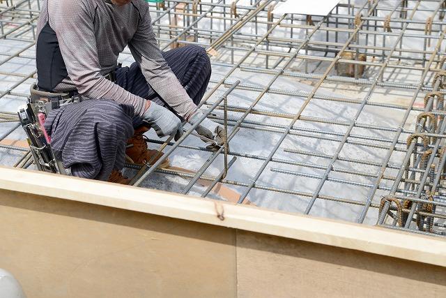 現場風景 福岡で戸建て住宅の基礎工事なら「原翔グループ」