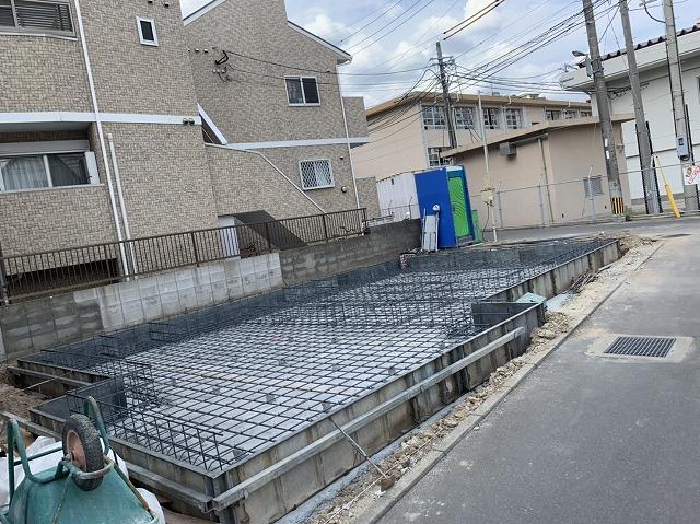 姪浜 一般家屋 基礎工事 実績
